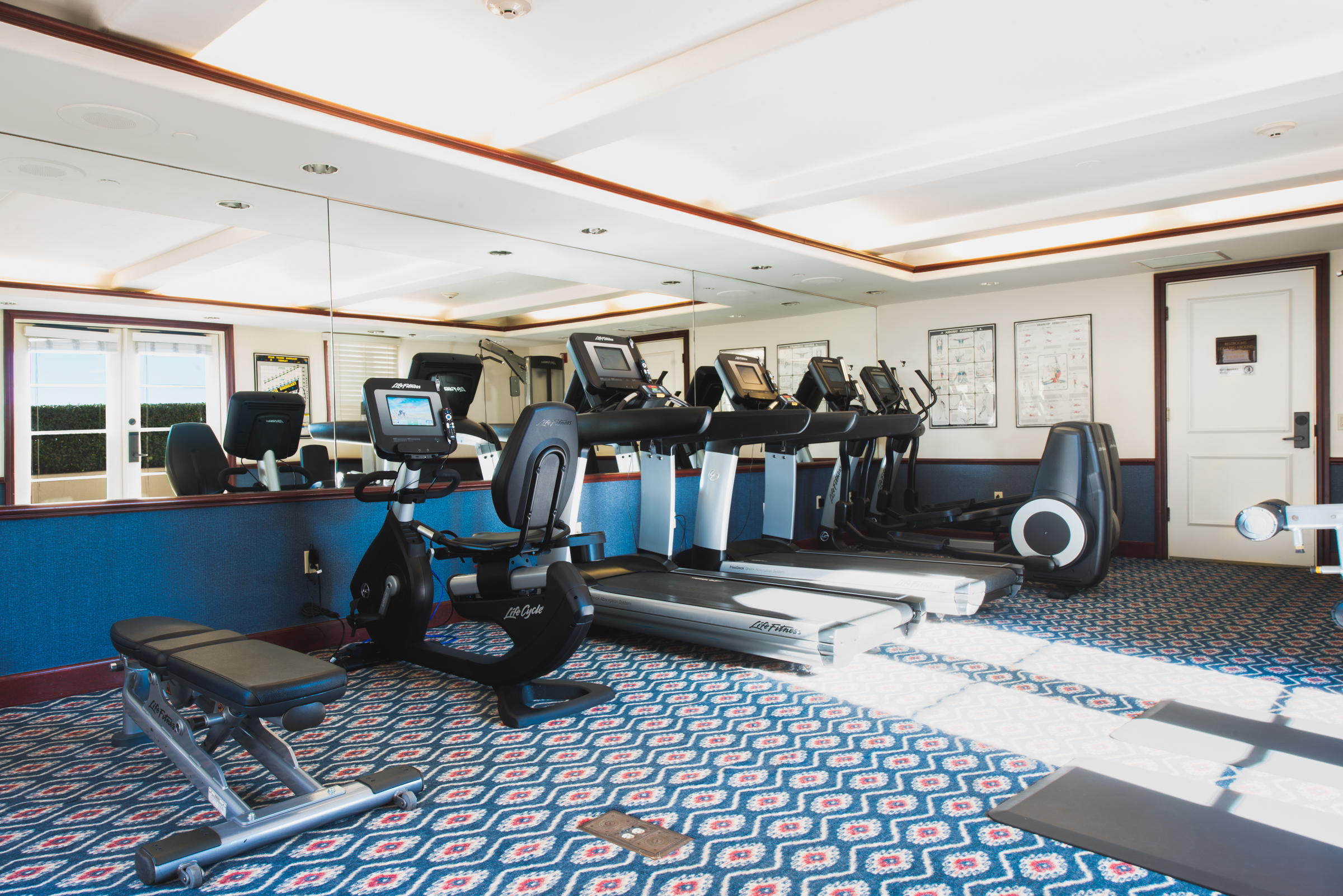 Fitness Center Harbor View Inn