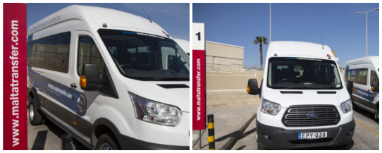 Malta Transfer - Transport Vehicle Parking Area