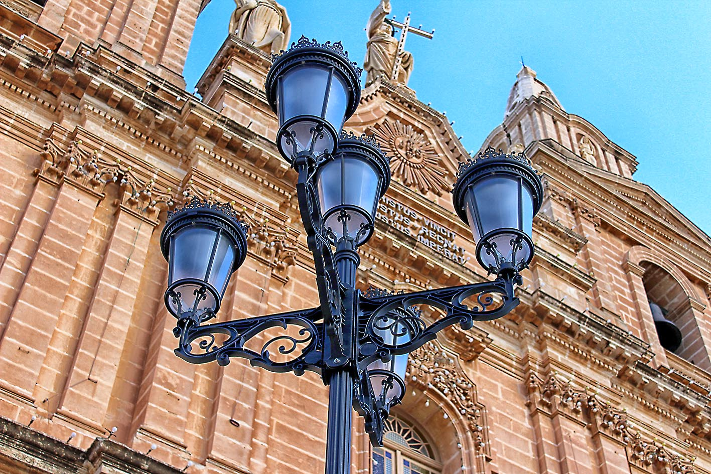 Change of Ornamental Lights situated in front of the Mellieħa Church