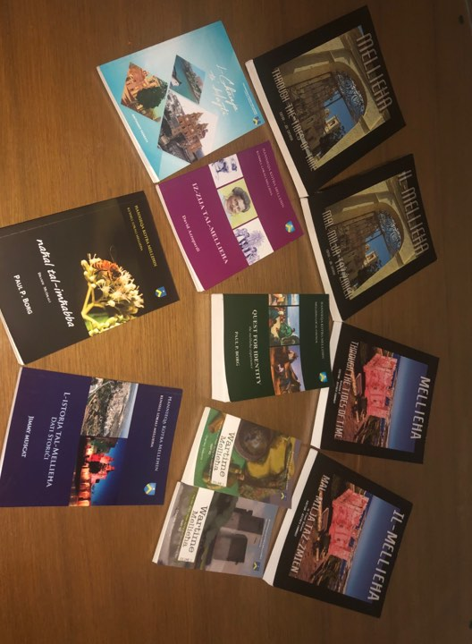 Books published by the Mellieħa Local Council