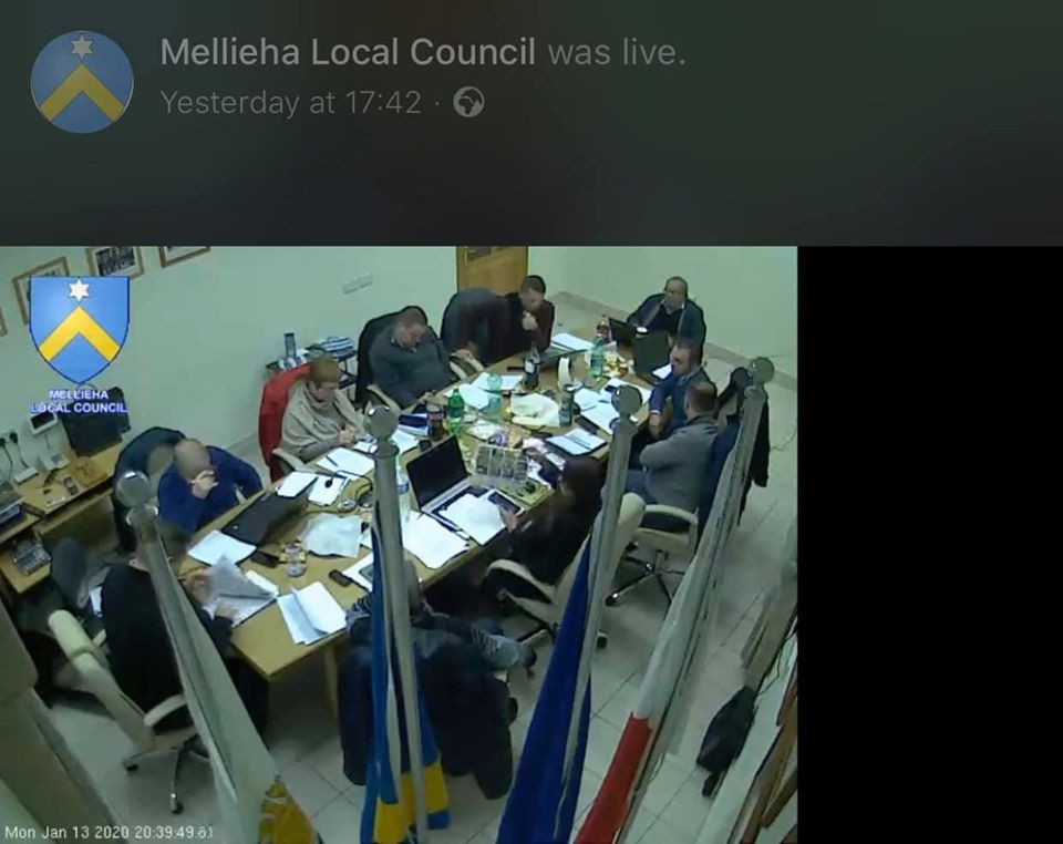 Council Sitting
