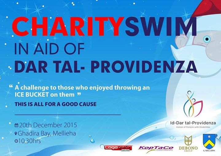 Charity Swim in aid of Id-Dar tal-Providenza