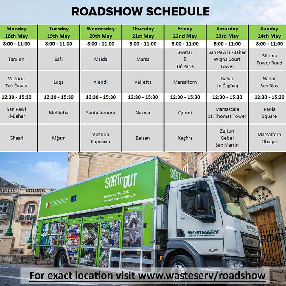 Roadshow Schedule