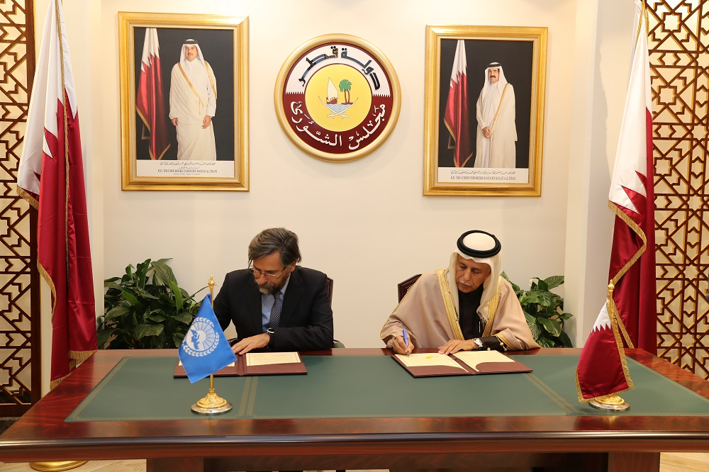 MoU paves the way for closer relations between the Parliamentary Assembly of the Mediterranean and the Shura Council of Qatar