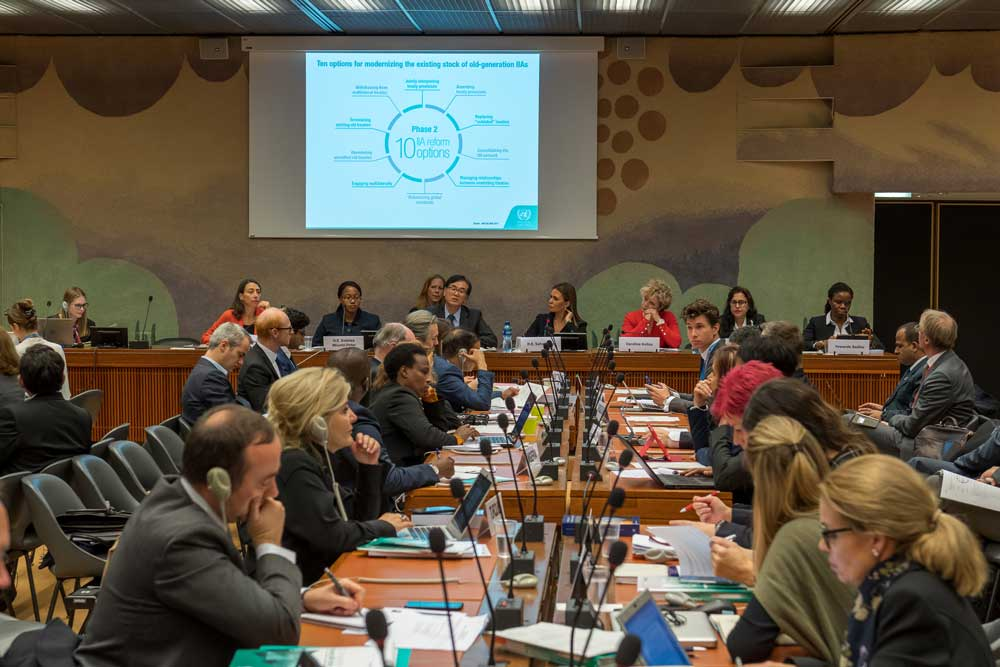 PAM and UNCTAD strengthen partnership at the High-Level IIA Conference