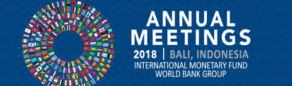 IMF and WB represent an additional reference for our parliamentarians in exercising their universal mandate: PAM President Pedro Roque at Annual Meeting in Bali.