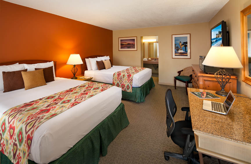 Sandpiper Lodge - Standard Double Queen Room