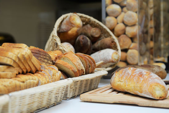 Fresh Bread Display