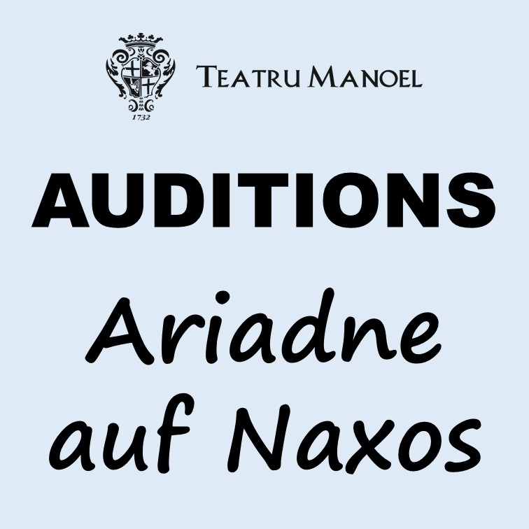 AUDITIONS Ariadne auf Naxos