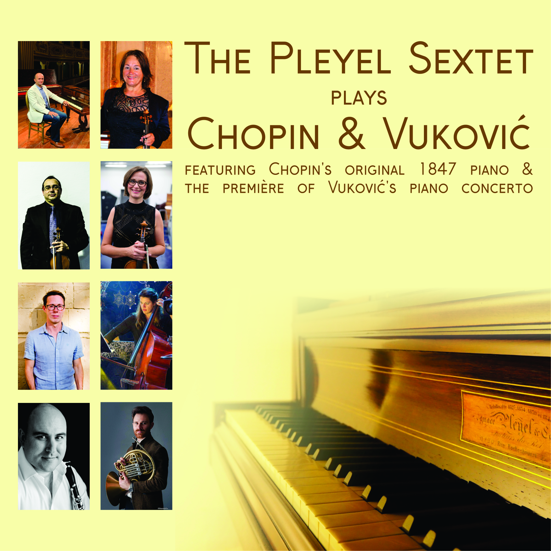 The Pleyel Sextet plays Chopin and Vuković