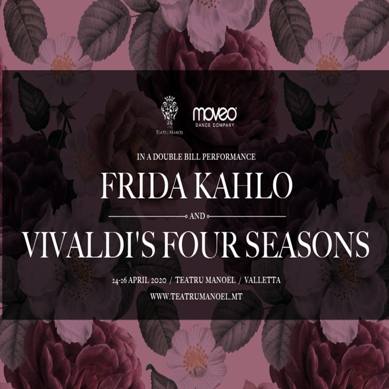 A Double Bill Performance - Vivaldi's Four Seasons & Frida Kahlo NEW DATES TO BE CONFIRMED