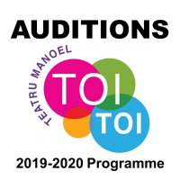 AUDITIONS Toi Toi Education Programme 2019-2020