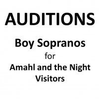 AUDITIONS: Boy Soprano