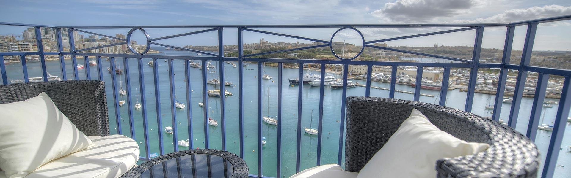 Sea View Hotel in Malta
