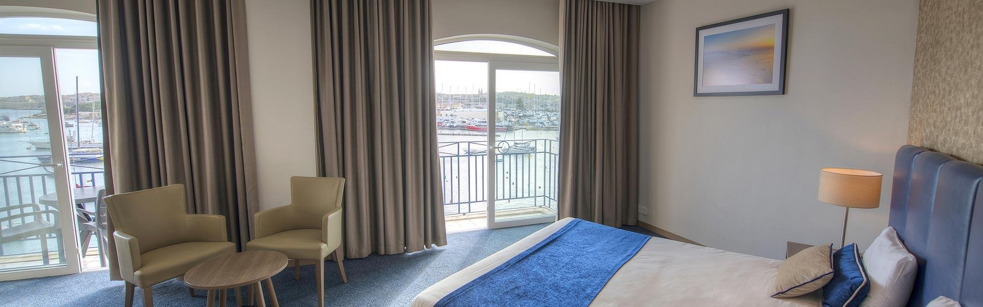 Superior Seaview Hotel Room